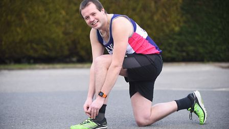 IT Technician Dave Walton is running a half marathon every month this year, to raise money for Cance