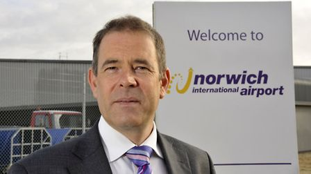 Richard Pace, Operations Director & General Manager of Norwich International. Pictured: Supplied