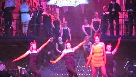 Pupils from Northgate High set to star in production of Bugsy Malone. Picture: NORTHGATE HIGH