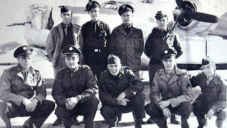 USAF airmen at Rackheath during the Second World War. Picture: ANTONY KELLY