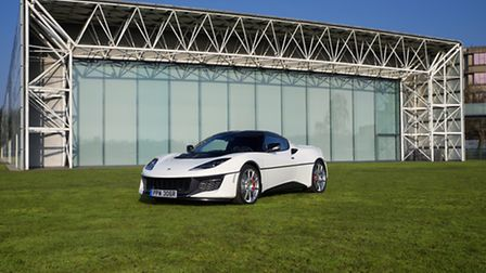 The special edition Lotus Evora Sport 410, created in commemoration of the Lotus Esprit's appearance