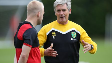 Norwich City assistant boss Alan Irvine is being touted with the vacant Rangers post. Picture: Jason
