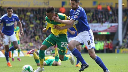 Cole Skuse will be asked to keep Norwich's attacking talent shackled. Picture: PAUL CHESTERTON/FOCUS