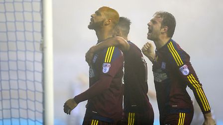 David McGoldrick has rediscovered his form for Ipswich in recent weeks. Picture: ARCHANT