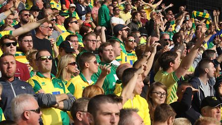 Norwich City fans will be out in force on Sunday. Picture: FOCUS IMAGES