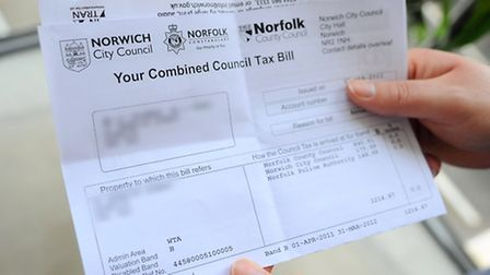 Council tax bills are going up again. Picture: Denise Bradley