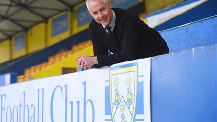Ian Culverhouse is the new manager of King's Lynn Town FC. Picture: Ian Burt