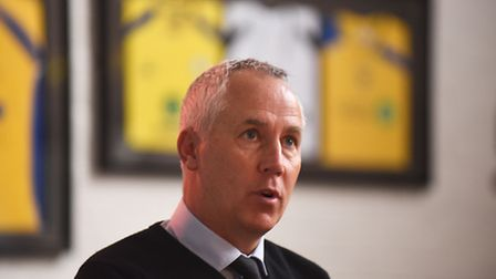 King's Lynn Town press conference to unveil Ian Culverhouse as the new manager of the club. Picture: