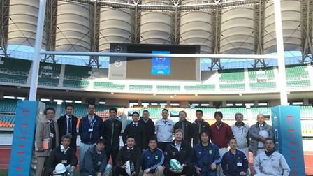 The Shizuoka Ecopa Stadium in Fukuroi is the first stadium to install a new set of Lowestoft firm Ha