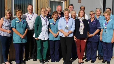 They are East Coast Community Healthcare�s out of hospital team. Picture: courtesy of East Coast Com