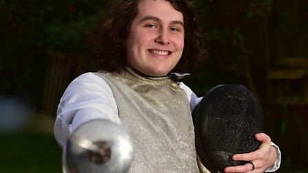 Adam Barnard, 17, from Lowestoft has qualified for the British Youth Championship Finals in fencing.