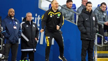 Norwich City manager Alex Neil knows this is a big weekend in the Championship promotion race. Pictu