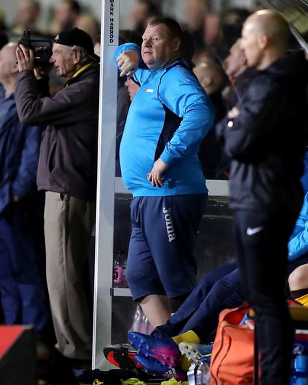 Sutton's now former reserve goalkeeper Wayne Shaw. Photo: PA