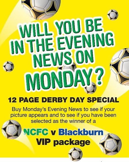 Will you be in the Evening News on Monday? Picture Archant