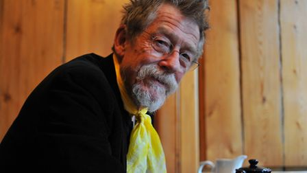 John Hurt at Cinema City in Norwich for a screening of The Elephant Man. Photo: Bill Smith