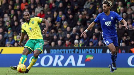 Cameron Jerome notched against his old club Birmingham City. Picture by Paul Chesterton/Focus Images