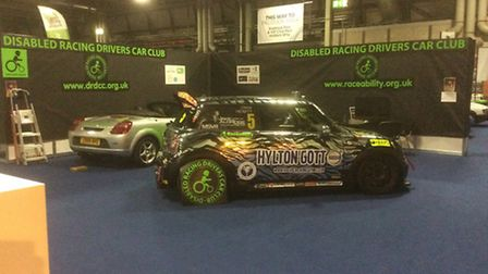 The Disabled Racing Drivers Car Club at Autosport International. Picture: Pat Ward
