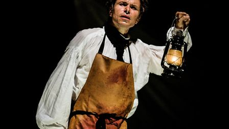 Blackeyed Theatre are bringing their bicentenary production of Frankenstein to the region. Picture: