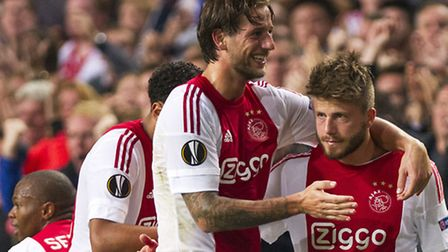 Ajax defender Mitchell Dijks has joined Norwich City on loan. AP Photo/Patrick Post