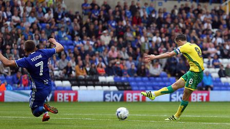 Norwich City had a day to forget at Birmingham earlier this season. Picture by Paul Chesterton/Focus