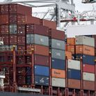 Containers on a ship Andrew Matthews/PA Wire