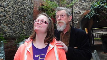 John Hurt launches a £50,000 appeal for the creation of a new accessible education facility at Cinem