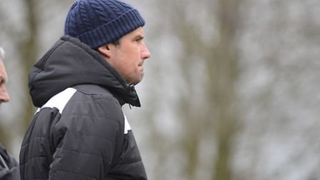 Damien Hilton's Wroxham gained a point against Witham.