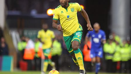 Cameron Jerome impressed for the Canaries, scoring the opening goal in a 2-0 win over Birmingham. Pi