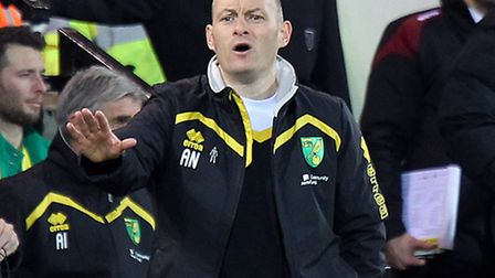 Canaries boss Alex Neil has come in for plenty of criticism this season but has rallied his troops r