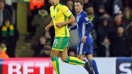 Young midfielder Ben Godfrey made his league debut for City as a substitute.