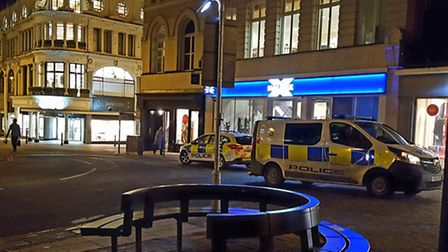 Police called to Norwich bank to deal with 'abusive customer'. PIcture: ARCHANT.