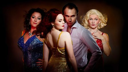 Norfolk and Norwich Operatic Society's production of The Witches of Eastwick which is at Norwich The