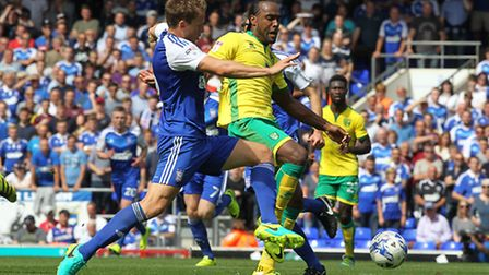 Cameron Jerome returns to his former club Cardiff City this weekend. Picture by Paul Chesterton/Foc