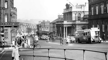 Looking down Prince of Wales Road, 1st April, 1960. Picture: Archant Library