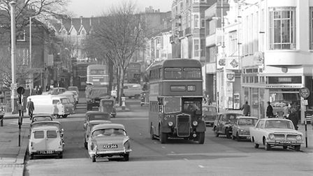 Prince of Wales road, Norwich, 1st December, 1965. Picture: Archant Library