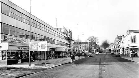 Prince of Wales Road pictured on the 29th November, 1966. Picture: Archant Library