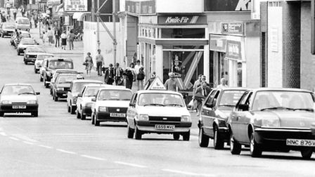 Prince of Wales Road in September, 1980. Picture: Archant Library