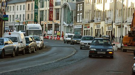 New road layout on Prince of Wales. Picture: Archant Library