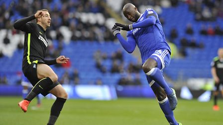Sol Bamba, right), is a vital player fro Neil Warnock. Photo: PA.