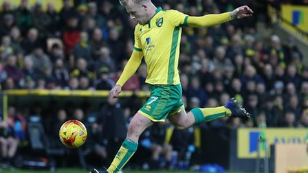 Steven Naismith is an injury doubt for Norwich City's match at Cardiff City. Picture by Paul Cheste