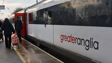 Greater Anglia train. Byline: Sonya Duncan Copyright: Archant 2016.