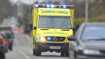 The East of England Ambulance Trust receives many hoax calls and unnecessary 999 calls. PHOTO BY SIM