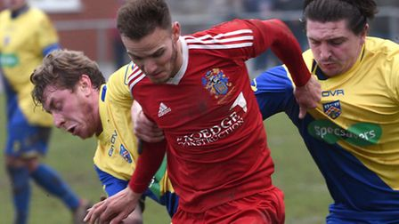 Billy Smith was on target for Wisbech in their win over Kirby Muxloe.