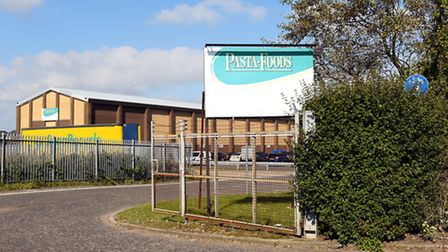 The Pasta Foods factory site off Pasteur Road in Great Yarmouth. October 2015. Picture: James Ba