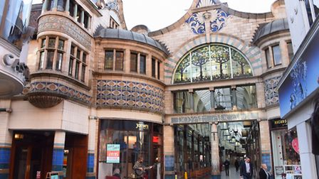 The Royal Arcade. Picture: DENISE BRADLEY