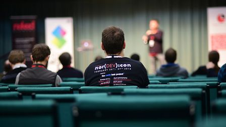 Norfolk Developers Conference. Picture: ANTONY KELLY