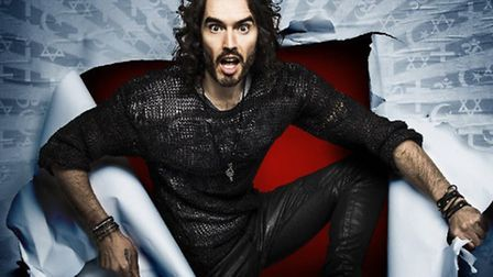 Russell Brand is bringing his Re:Birth tour to Norwich Theatre Royal in June. Photo supplied by Norw