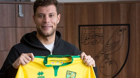 Yanic Wildschut will be hoping for his Norwich City debut at Cardiff on Saturday. Picture: Jasonpix/
