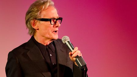 Bill Nighy at the Aldeburgh Documentary Festival. Picture: Nick Tipping Photography
