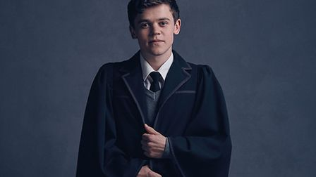 Sam Clemmett played Albus Potter in the Harry Potter And The Cursed Child stage play. Photo: Charlie